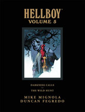 Image: Hellboy Library Vol. 05: Darkness Calls / Wild Hunt HC  - Dark Horse