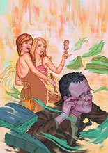 Image: Angel & Faith #10 (Steve Morris cover) - Dark Horse Comics