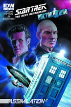 Image: Star Trek: The Next Generation / Doctor Who - Assimilation2 #1 - IDW Publishing