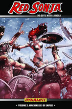 Image: Red Sonja Vol. 10: Machineries of Empire SC  - D. E./Dynamite Entertainment
