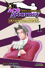 Image: Miles Edgeworth: Ace Attorney Vol. 01 GN  - Kodansha Comics