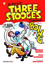 Image: Best of the Three Stooges Comic-Books Vol. 01 HC  - Papercutz