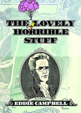 Image: Lovely Horrible Stuff HC  - Top Shelf Productions