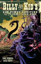Image: Billy the Kid's Old Timey Oddities and the Orm of Loch Ness SC  - Dark Horse Comics