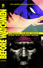 Image: Before Watchmen: Ozymandias / Crimson Corsair Deluxe Edition HC  - DC Comics