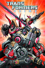 Image: Transformers Prime: Rage of the Dinobots SC  - IDW Publishing