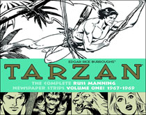 Image: Tarzan: The Complete Russ Manning Newspaper Strips Volume 1: 1967-1969 HC  - IDW Publishing