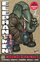 Image: Elephantmen Vol. 01: Wounded Animals  (Revised & Expanded) HC - Image Comics