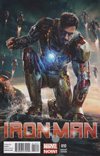 Image: Iron Man #10 (NOW!) (Movie variant cover) - Marvel Comics