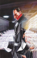 Image: Shadow #14 (15-copy incentive Ross virgin cover) - D. E./Dynamite Entertainment