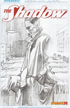 Image: Shadow #14 (25-copy incentive Ross sketch cover) - D. E./Dynamite Entertainment