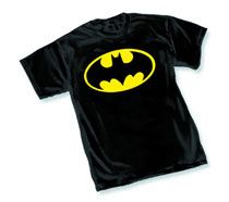 Image: Batman Symbol I T-Shirt [Black]  (XXL) - Dc Heroes Apparel
