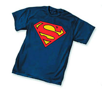 Image: Superman Symbol I Youth T-Shirt  (L) - Dc Heroes Apparel