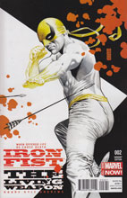 Image: Iron Fist: Living Weapon #2 (variant cover - Jones) - Marvel Comics