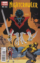 Image: Nightcrawler #2 (variant cover) - Marvel Comics