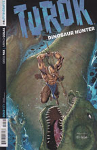 Image: Turok: Dinosaur Hunter #4 (50-copy incentive cover - Syaf) - Dynamite
