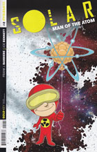 Image: Solar: Man of the Atom #2 (75-copy incentive cover - Haeser Lil Solar) - Dynamite