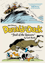 Image: Walt Disney's Donald Duck: Trail of the Unicorn HC  - Fantagraphics Books