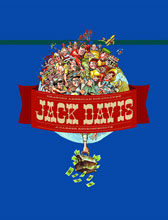 Image: Jack Davis: Drawing American Pop Culture HC  (new printing) - Fantagraphics Books
