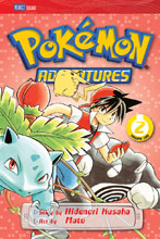 Image: Pokemon Adventures Vol. 02: Red Blue GN  - Perfect Square