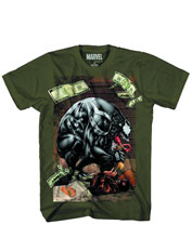 Image: Marvel: Venom Symbicash T-Shirt [Military Green]  (S) -