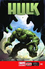 Image: Hulk #2 (variant 2nd printing cover - Jerome Opena)  [2014] - Marvel Comics