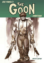 Image: Eric Powell's The Goon: Chinatown Artist's Edition HC  - IDW Publishing