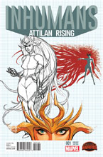 Image: Inhumans: Attilan Rising #1 (Johnson design variant cover - 00131) - Marvel Comics