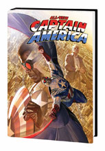 Image: All-New Captain America Vol. 01: Hydra Ascendant HC  (DM variant) - Marvel Comics
