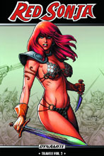 Image: Red Sonja: Travels Vol. 02 SC  - Dynamite