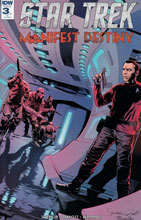 Image: Star Trek: Manifest Destiny #3 (variant incentive cover) (10-copy)  [2016] - IDW Publishing