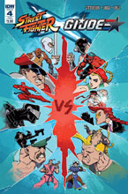 Image: Street Fighter x G.I. Joe #4 (subscription cover)  [2016] - IDW Publishing