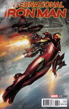 Image: International Iron Man #3 (variant cover - Skan) - Marvel Comics