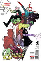 Image: A-Force #5 - Marvel Comics