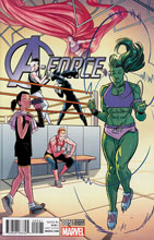 Image: A-Force #5 (variant cover - Anka) - Marvel Comics