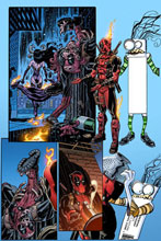 Image: Deadpool #12 (variant cover - Koblish Secret Comic) - Marvel Comics
