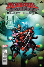 Image: Deadpool: Last Days of Magic #1 (variant cover - Lim)  [2016] - Marvel Comics