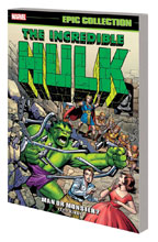 Image: Incredible Hulk Epic Collection: Man or Monster? SC  - Marvel Comics