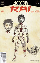 Image: Rai #13 (Cafu Character Design variant incentive - 01341) (10-copy)  [2016] - Valiant Entertainment LLC