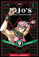 Image: JoJo's Bizarre Adventure Vol. 03: Battle Tendency Part 2 HC  - Viz Media LLC
