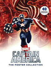 Image: Captain America: The Poster Collection SC  - Insight Editions