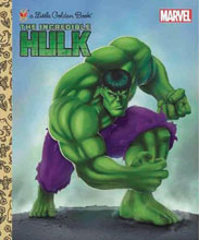 Image: Marvel Comics Little Golden Book: The Incredible Hulk   - Random House Books For Young R
