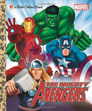 Image: Marvel Comics Little Golden Book: The Mighty Avengers  - Random House Books For Young R