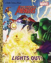 Image: Marvel Comics Little Golden Book: The Mighty Avengers - Lights Out!  - Random House Books For Young R