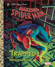 Image: Marvel Comics Little Golden Book: Amazing Spider Man - Trapped by Green Goblin  - Random House Books For Young R