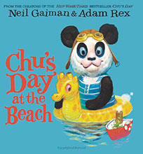 Image: Neil Gaiman Board Book: Chu's Day at the Beach  - Harper Collins Publishers