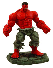 Image: Marvel Select Action Figure: Red Hulk  - Diamond Select Toys LLC