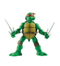 Image: Teenage Mutant Ninja Turtles Collectible Figure: Raphael  (1/6 scale) - Mondo Tees LLC