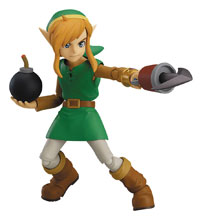 Image: Legend of Zelda: Link Between Worlds Figma Action Figure - Link  (Deluxe version) - Good Smile Company
