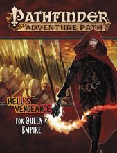 Image: Pathfinder Adventure Path: Hell's Vengeance Part 4 - For Queen & Empire SC  - Paizo, Inc